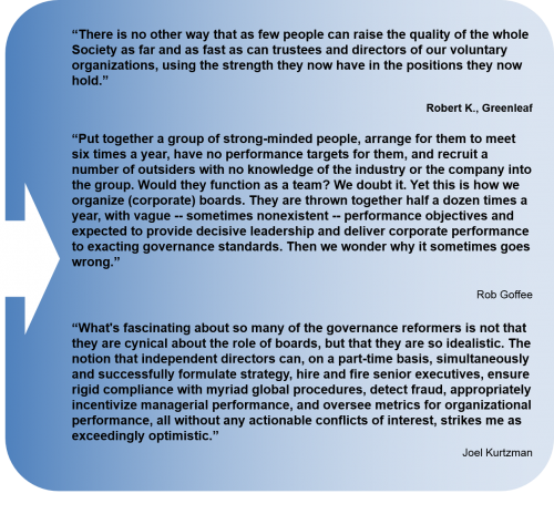 quotes - governance